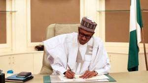 President Muhammadu Buhari resumes office 5 1 - 'Endorsement of failure' — PDP Lambasts APC governors over award to Buhari