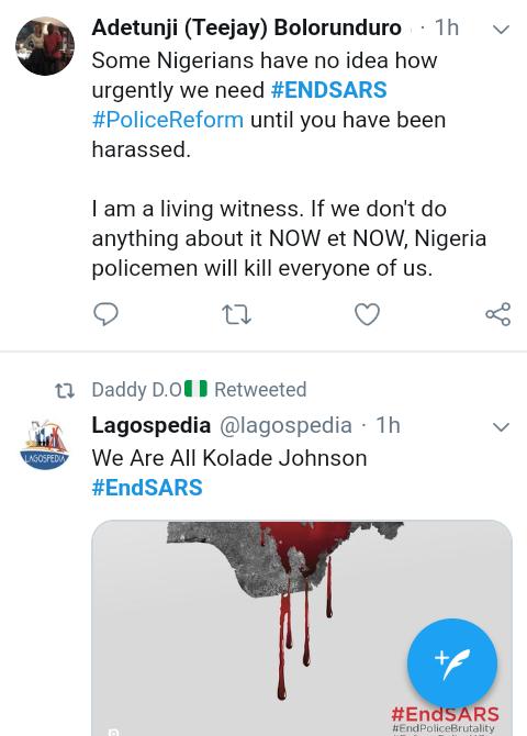 Screenshot 20190401 1513512 4 - #EndSARS: SARS is a terrorist group – Nigerians react to SARS killings