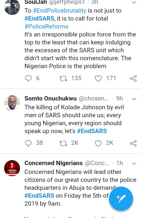 Screenshot 20190401 151438 2 - #EndSARS: SARS is a terrorist group – Nigerians react to SARS killings