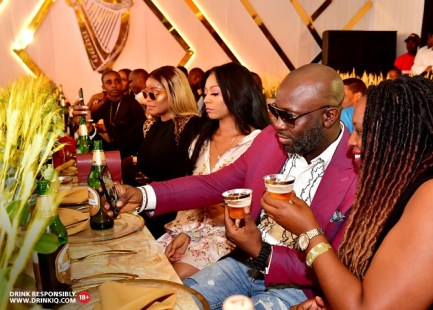 Tola Odunsi 2 - Guiness Gold Launches In Style