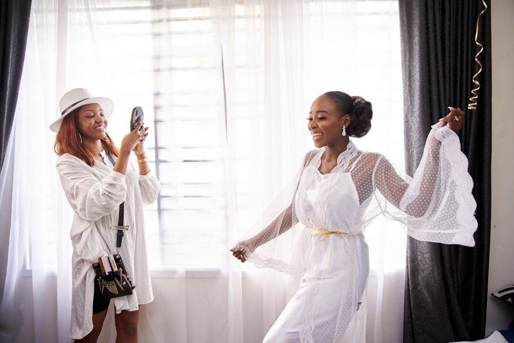Tomike Alayanade Tosin theTTAffair2 1024x684 - [Photos]: See first photos from TV girl Tomike Alayande's wedding