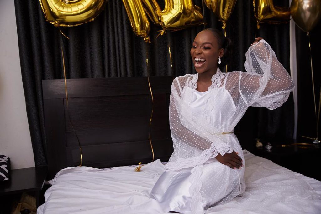 Tomike Alayanade Tosin theTTAffair5 1024x685 - [Photos]: See first photos from TV girl Tomike Alayande's wedding