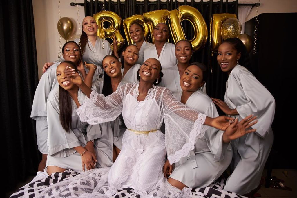 Tomike Alayanade Tosin theTTAffak1 1024x685 - [Photos]: See first photos from TV girl Tomike Alayande's wedding