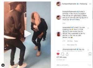 ak - Omoni Oboli Couldn't Hide Her Jealosy For Funke Akindele's Zanku