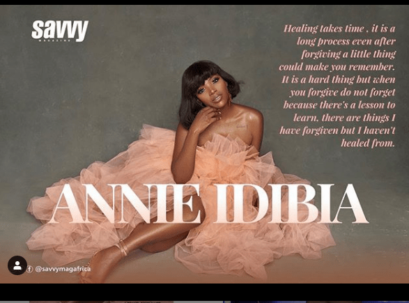 c 1 - [Photos]: Annie Idibia covers latest issue of Savvy Magazine