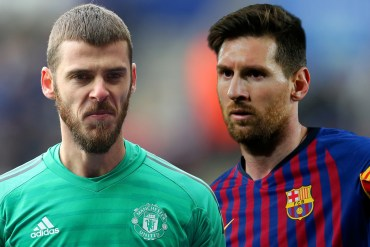 Manchester United Keeper, De Gea Undergoes 'Special Preparation' For Messi