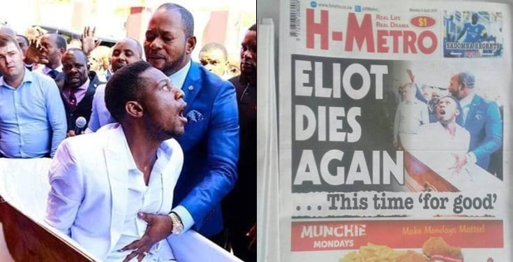 "fgggg - Man Who Was ""Resurrected"" By Pastor Lukau Reportedly Dies Again"
