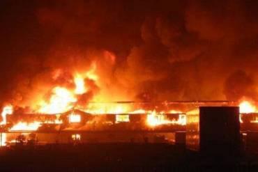 Fire Destroys 35 Shops In Kano Market