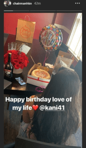 hkn - Davido's Elder Brother, Adewale Adeleke, Gifts Girlfriend N9m Wristwatch As Birthday Gift