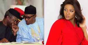 omotola - The Country Under Your Watch Is Hellish – Omotola Throw Mud At Buhari And Osinbajo