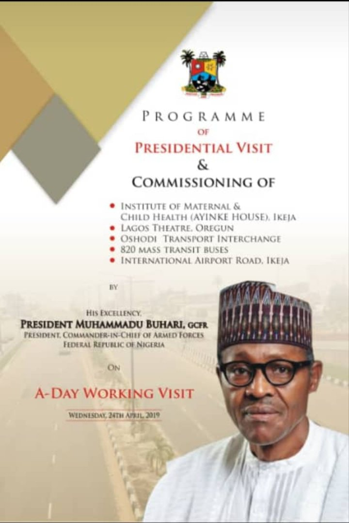 oshodi - Lagos state government wants Buhari to commission an uncompleted terminal building in Oshodi, What a country – Nigerians