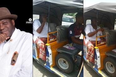 Nigerian Diplomat Boards Keke To Escape 2-Hour Traffic Jam