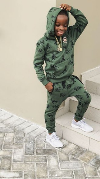 wizboy - Video: Wizkid's Son Speaks On Going Into Fashion, Plans To Style Olamide, Ycee And Dad