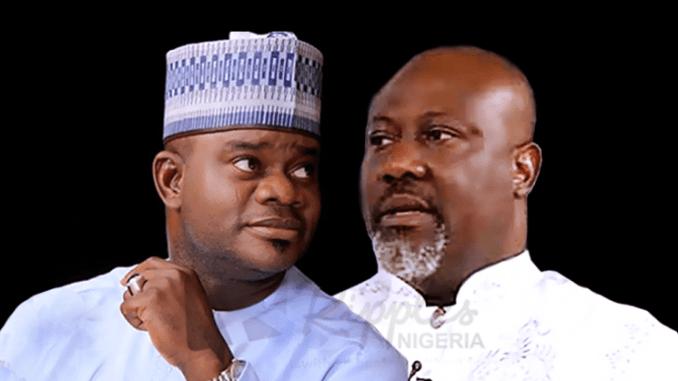 yahaya bello dino melaye 810x419 - Nigerians Roast Dino Melaye For Saying He Plans To Send Yahya Bello To Prison