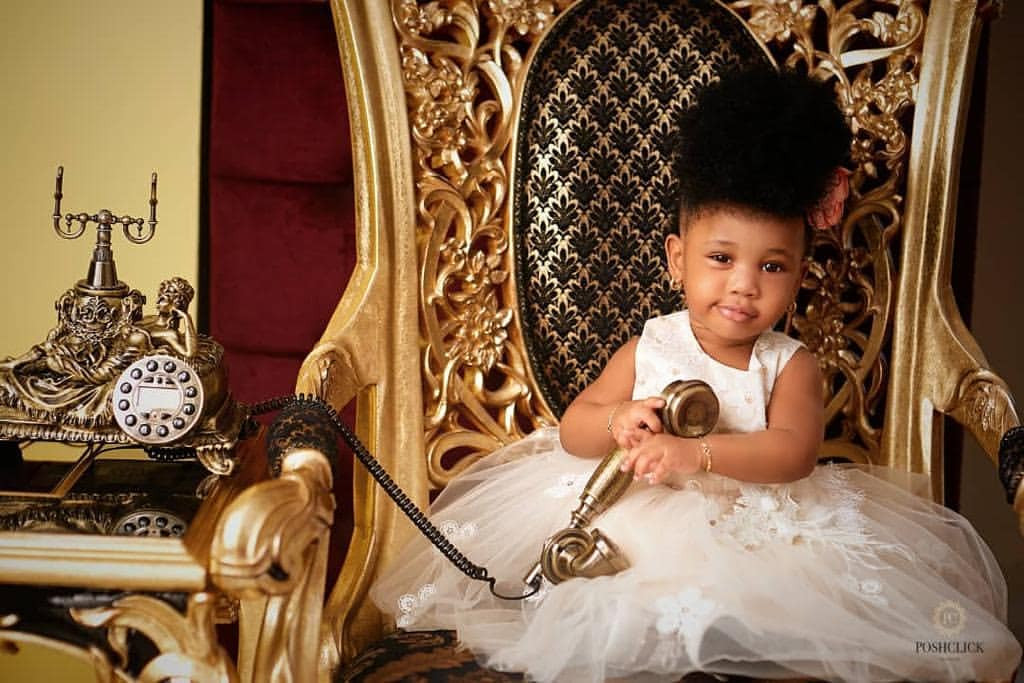 5cd7cb117926e - 'I forgive him for not being here to love you'- Ehi Ogbebor says as she celebrates daughter's 1st birthday