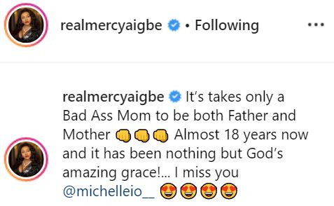 5cd898c88fde9 - #MothersDay: 'Only a bad ass mom can be father and mother to her child' – Mercy Aigbe