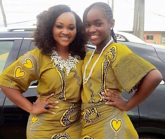 #MothersDay: 'Only a bad ass mom can be father and mother to her child' - Mercy Aigbe