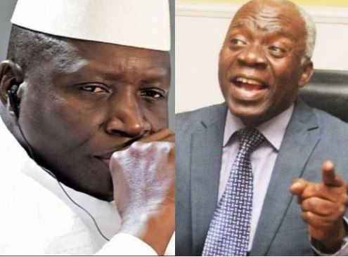 'The illegal execution of nine Nigerians in Gambia was ordered by President Yahya Jammeh - Femi Falana alleges