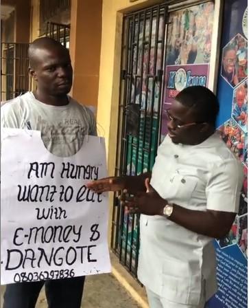 9386309 kd   1 jpeg0cc52094a71f188d75f5a32d58becef9 - Finally! Man Who Wants To Dine With Dangote, E-Money Meets Dangote