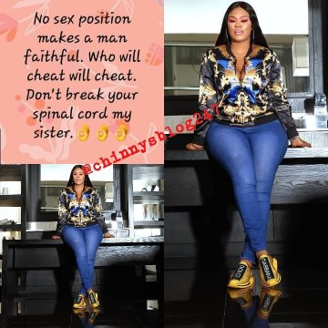 9399688 1557932034261 jpegc11ec4cf77f63525518f8697b3e56b37 - 'No S*x Position Can Hold A Man' – Daniella Okeke Reveals