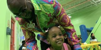 [Photos]: Davido flies down to Atlanta to celebrate his daughter Hailey's 2nd birthday