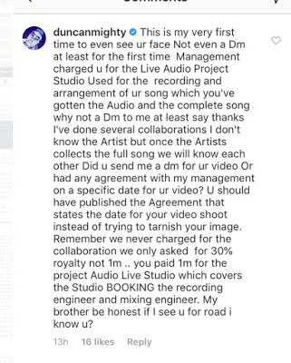 IMG 20190513 013353 - Norway-based Artist, Appyday Reveals How Duncan Mighty Swindled Him of 1Million Naira