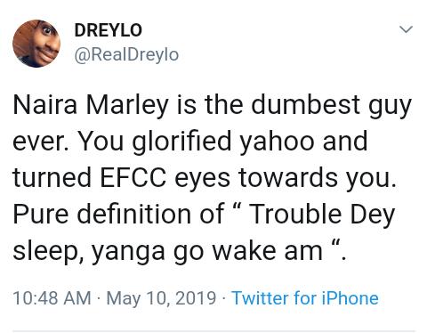 Screenshot 20190510 1056042 - Social Media Goes Agog Over Naira Marley's Arrest