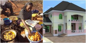 """akare - banker Shares how an """"Akara"""" seller became a landlord in front of her very eyes."""