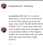 ednu - Don Jazzy Must Have Milked Tiwa Savage Dry By Dropping Such Message After Her Departure – Tunde Ednut