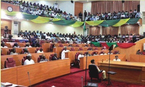 Ondo lawmakers during plenary