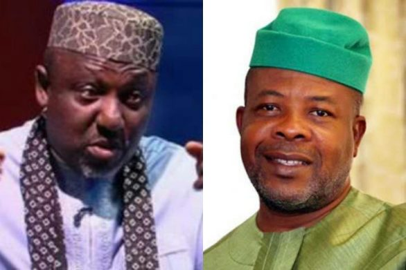 """Ihedioha Never Won The Election That Brought Him To Power, All These Allegations Are To Poison The Mind Of Imo People Against Impeding Rerun"""" - Okrocha Replies Ihedioha"""