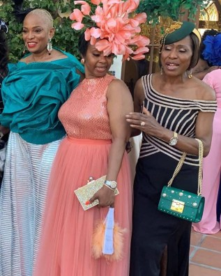 See photos from Mo Abudu's daughter's white wedding