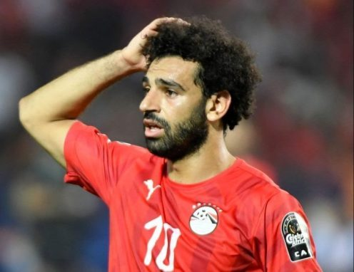 [Photos]: Mohammed Salah Breaks Down In Tears After Egypt Exits From AFCON 2019