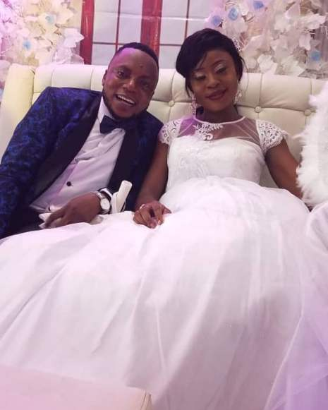 Omobolaji and his wife