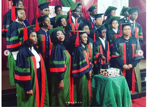 Actor Emeka Ike Celebrates His Son As He Graduates From College