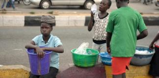 Lagos Child Hawkers