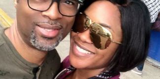 Omoni Oboli and her husband, Nnamdi