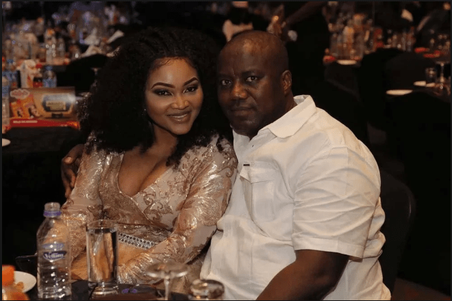 Mercy Aigbe and Estranged Husband, Lanre