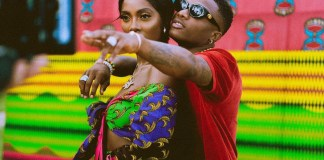 Wizkid and Tiwa Savage