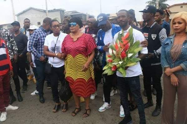 DJ Arafat's mother and siblings