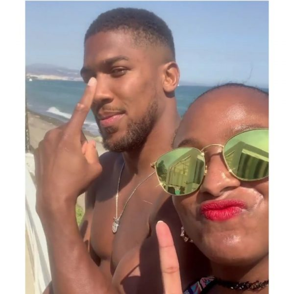 , Anthony Joshua Gifts DJ Cuppy Diamond Chain; Sparks Dating Rumour, All 9ja
