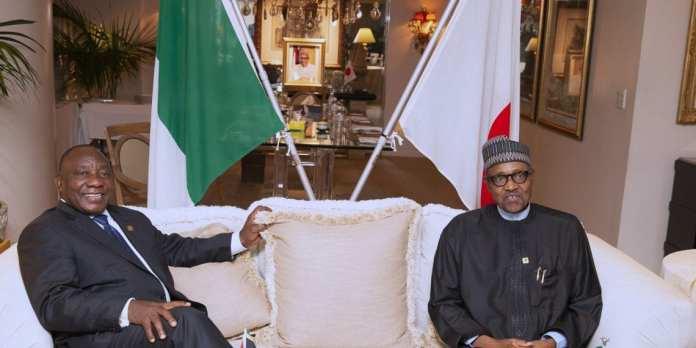 Rhamaphosa, Buhari