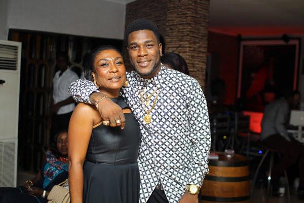 Burna Boy and his mom, Bose Ogulu