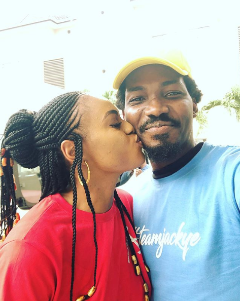 BBNaija Star, Jackye All Loved Up With Boyfriend (Video)