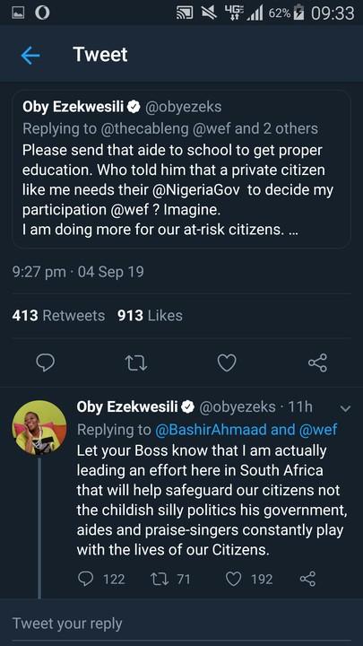 Oby Ezekwesilli