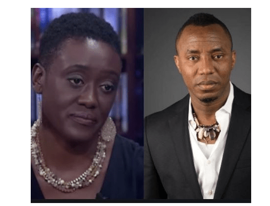 Sowore and Wife