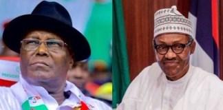 Atiku Abubakar and Muhammed Buhari
