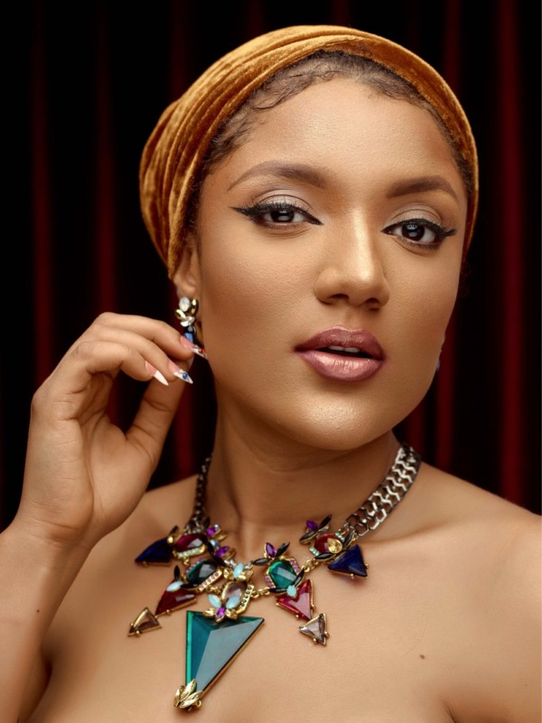 Gifty Powers Shares Nude Shot Of Herself During Pregnancy (Picture)