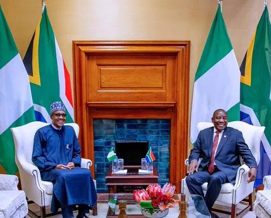 Cyril Ramaphosa, Buhari
