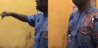 Nigerian man mourns his friend